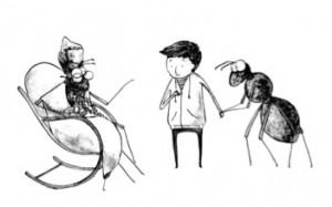 skruzdele burtininke
